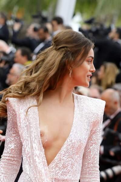 La finaliste de Miss Suisse 2013 ne s'est rendu compte de rien