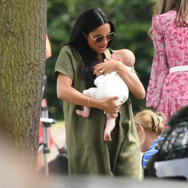 Meghan Markle, mère attentive pour son fils Archie
