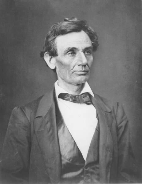 Abraham Lincoln, 1860...