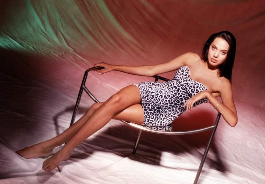 Angelina Jolie à 16 ans