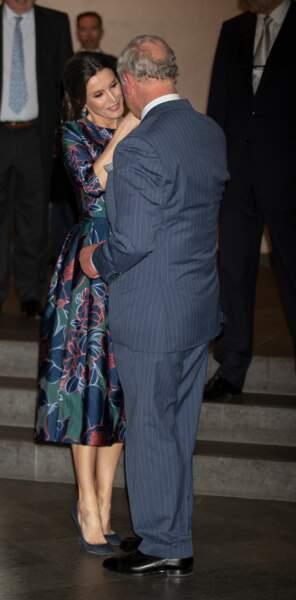 La complicité entre le prince Charles et la reine Letizia d'Espagne sautait aux yeux