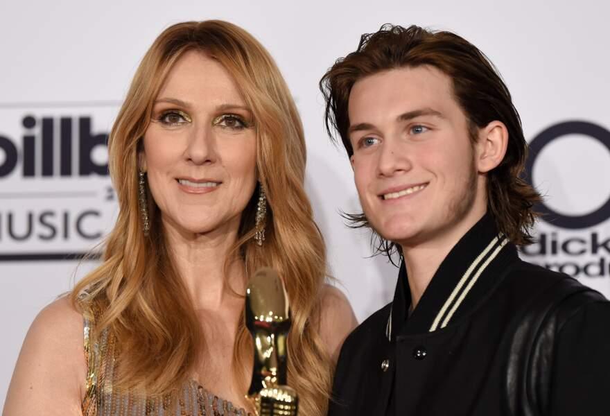 Céline Dion et René-Angelil aux Billboard Music Awards en 2016