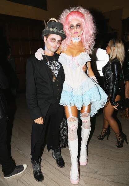 Matt Bellamy et Elle Adams