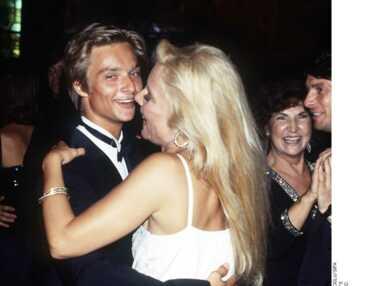 Sylvie Vartan et son fils David Hallyday