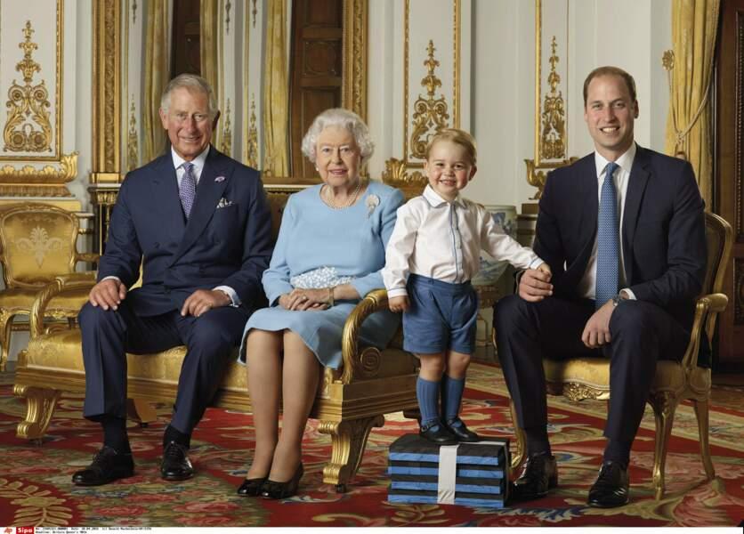 Le prince William ne peut décidément pas renier son fils, le petit George