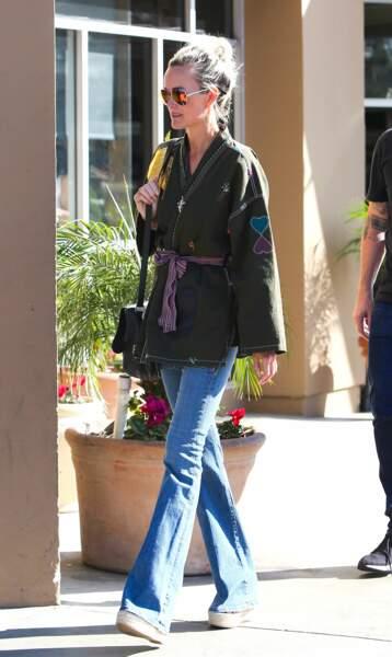 Laeticia Hallyday, le 17 janvier dans les rues de Los Angeles