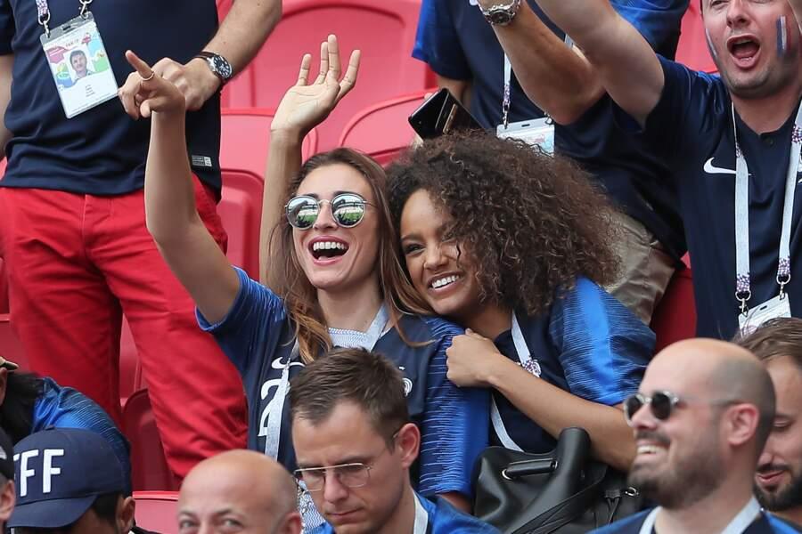 La joie des deux anciennes Miss France