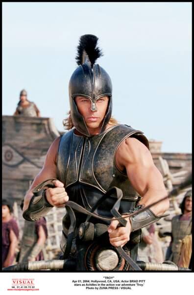 Brad Pitt dans Troie (2004)
