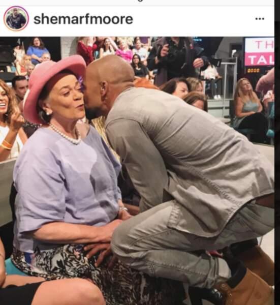 Shemar Moore et sa maman
