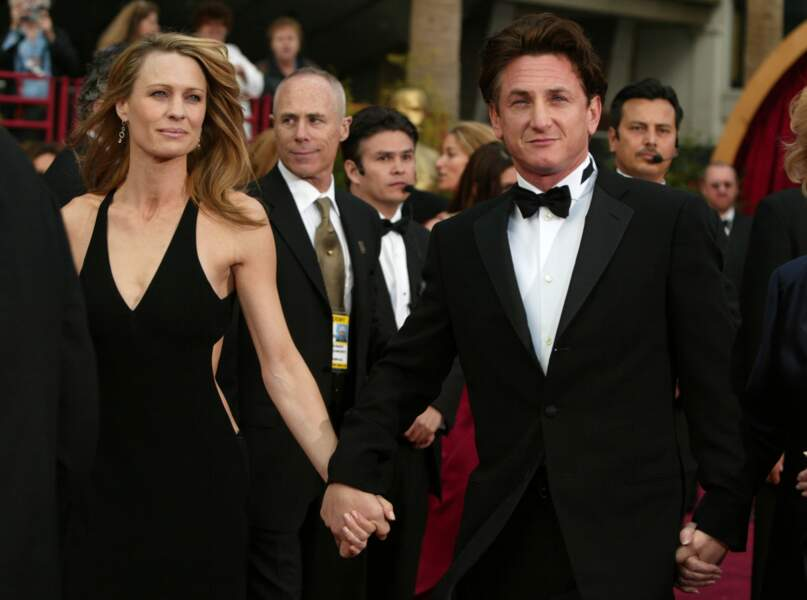 Robin Wright-Penn et Sean Penn