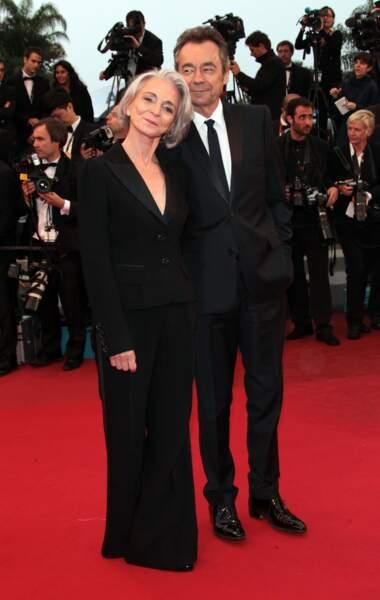 """Michel Denisot et sa femme Martine Denisot, créatrice de la marque de parfums """"Pour Toujours"""""""