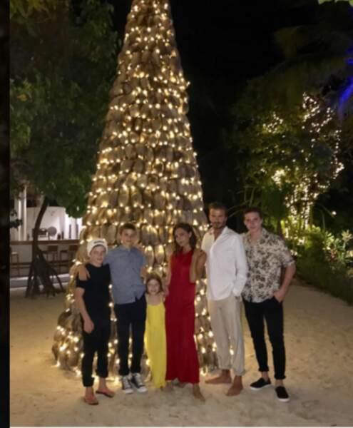David Beckham en famille