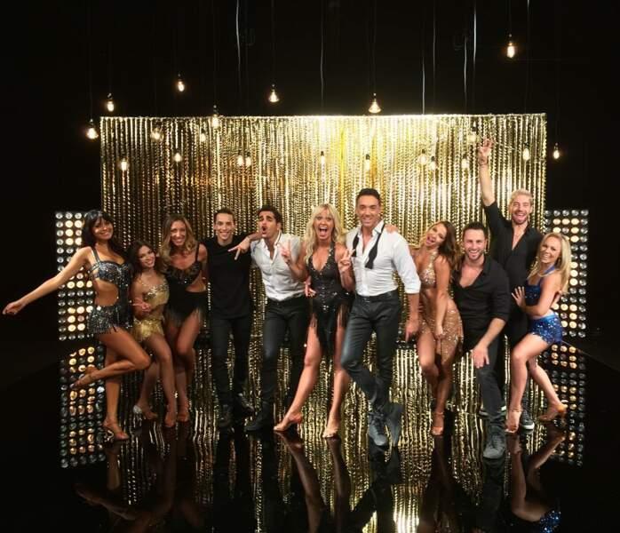 La troupe des danseurs de la saison 7 de danse avec les stars