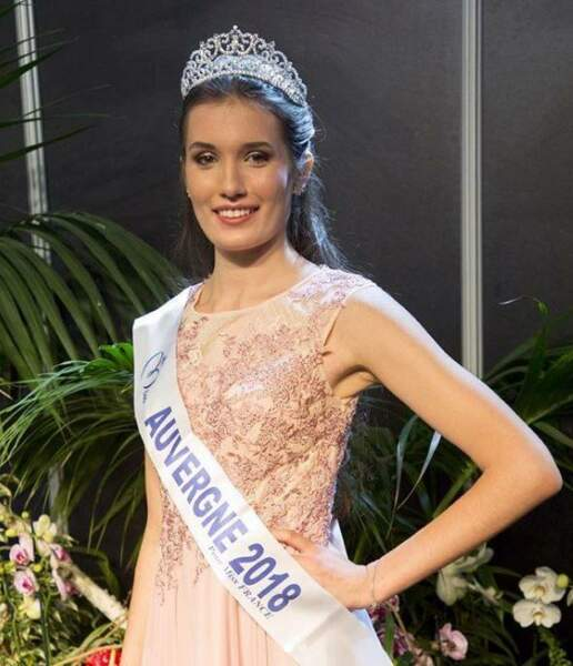 Romane Eichstadt, 18 ans, a été sacrée Miss Auvergne et tentera de devenir Miss France 2019