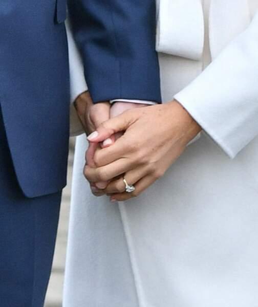 La bague de fiançailles offerte par le prince Harry à Meghan Markle