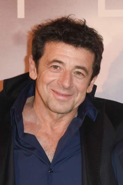 Patrick Bruel, tout sourire, à l'avant-première du troisième film en tant que réalisatrice de son ex-compagne