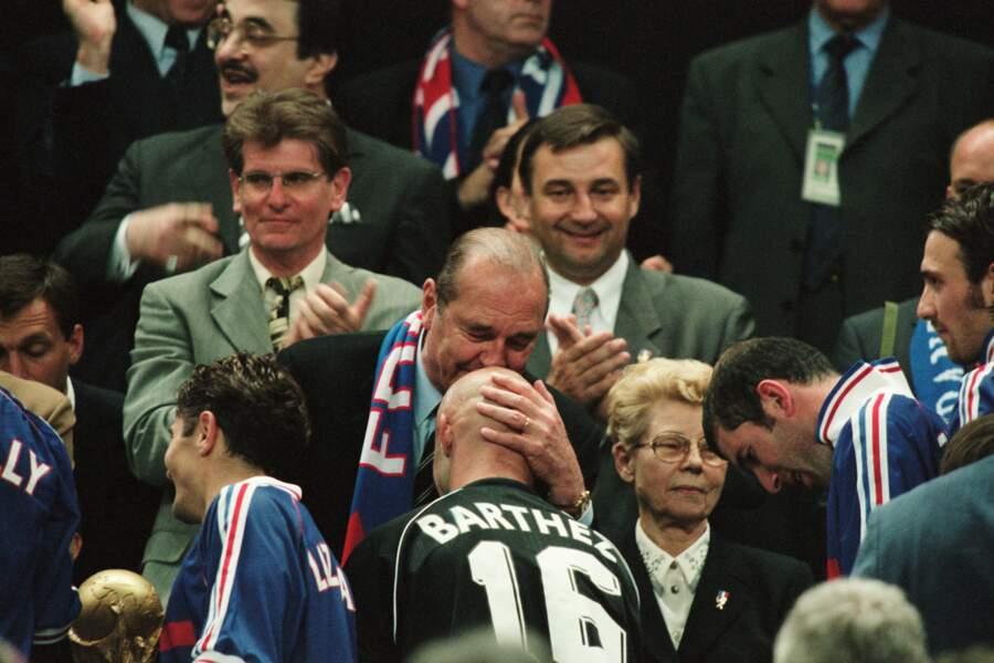 Aller les bleus ! France, 1998.
