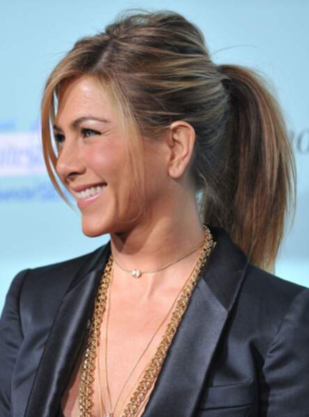 La queue de cheval sexy de Jennifer Aniston