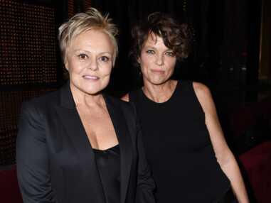 Muriel Robin : ultra-glamour avec sa compagne Anne Le Nen, pour une remise de prix