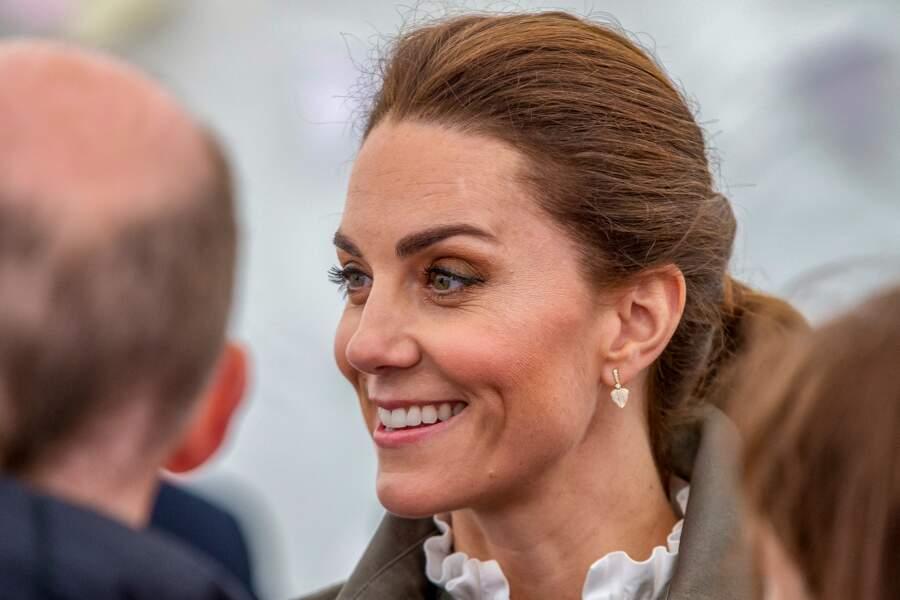 Kate Middleton a changé sa façon de se maquiller pour une version plus sophistiquée