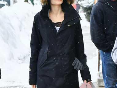 Angelina Jolie en vacances au ski avec ses enfants