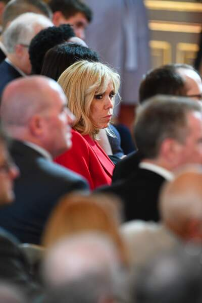 Brigitte Macron lors du lancement de la concertation autour du 4ème plan autisme