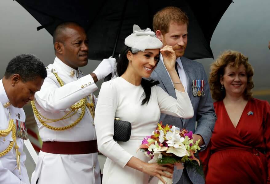 Meghan Markle et le prince Harry aux îles Fidji