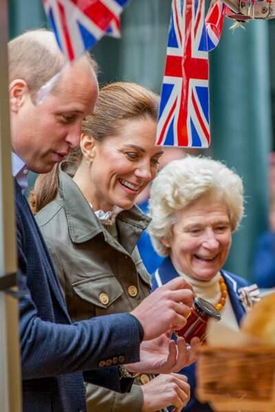 Kate Middleton et le prince William semblent plus complices que jamais.