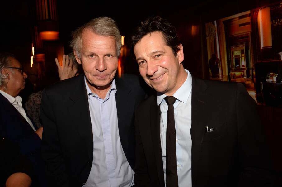 Laurent Gerra et Patrick Poivre d'Arvor