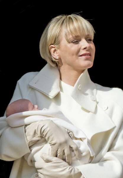 Charlène de Monaco, maman comblée