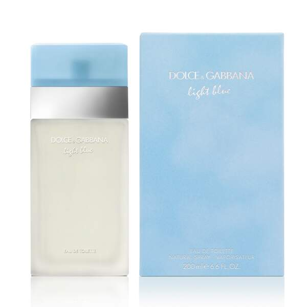 Son parfum de coeur : Light Blue, Dolce & Gabbana