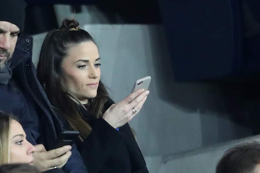 Elle était dans les tribunes pour le match PSG-Dijon.