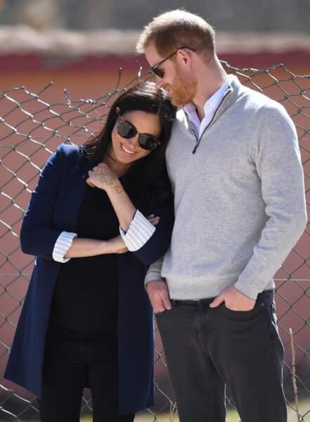 Meghan Markle et le prince Harry au Maroc : l'une des plus belles photos des futurs parents