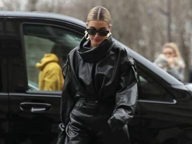 PHOTOS - Hailey Baldwin, madame Justin Bieber, ultra rock pour la fashion week à Paris