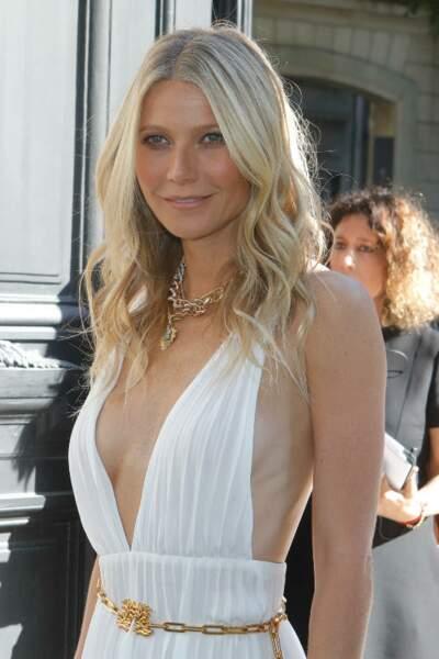 Gwyneth Paltrow utilise un loofah, un gant de crin, pour avoir les cheveux si lisses et brillants.