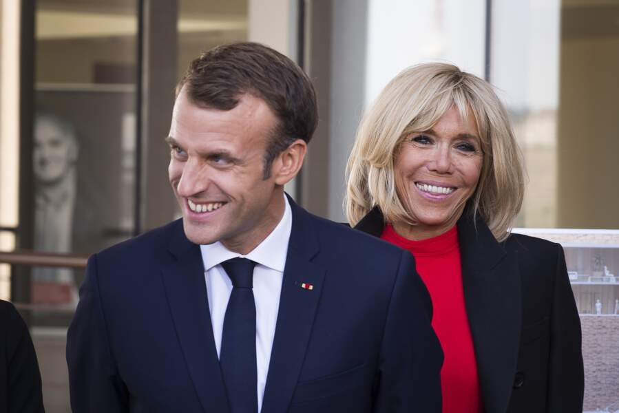 Brigitte Macron accompagne le président pour visiter la fondation Charles Aznavour, à Yerevan en Arménie