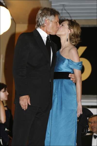 Harrison Ford et Calista Flockhart en 2008