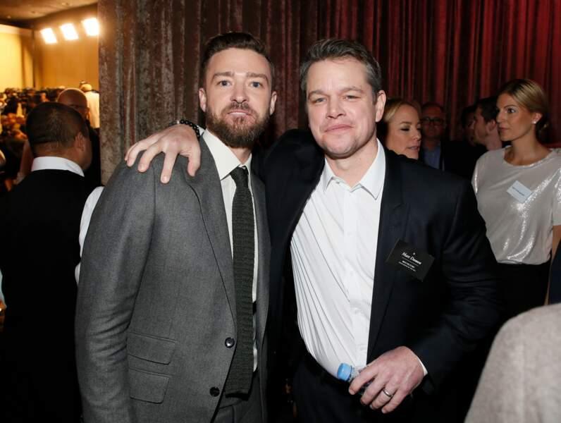 Justin Timberlake et Matt Damon