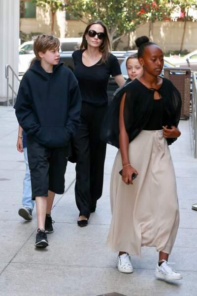 Zahara ouvre le pas à ses frères et soeurs