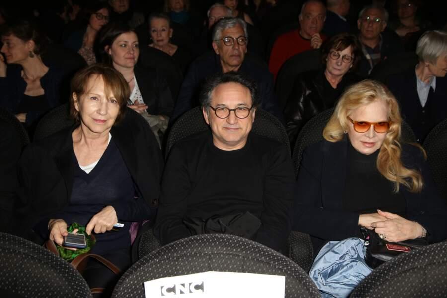 Nathalie Baye, Thierry Klifa et Sylvie Vartan lors de la soirée en l'honneur de Danielle Darrieux