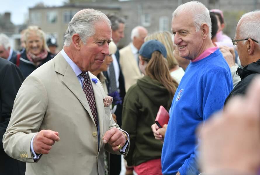 Le prince Charles lors de l'anniversaire de Camilla Parker Bowles à St Mary's ce mardi 17 juillet 2018