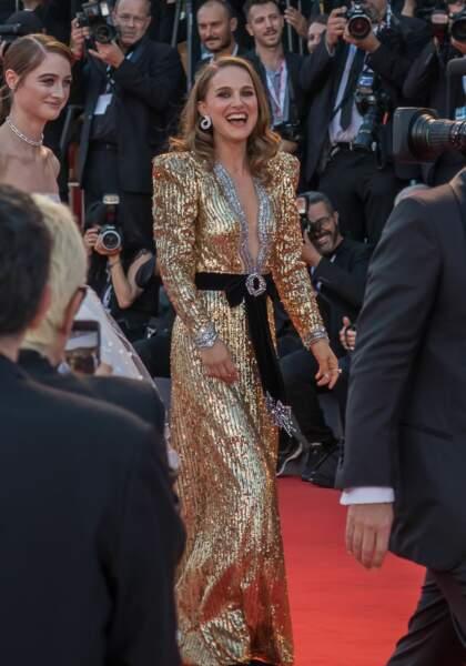 Natalie Portman sexy en robe Alexandre Vauthier