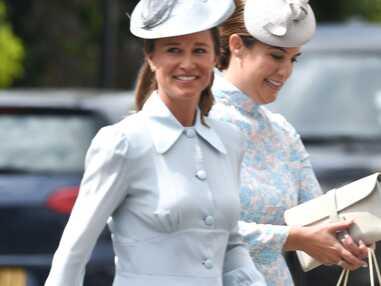 PHOTOS - Les tenues bleues de Pippa Middleton