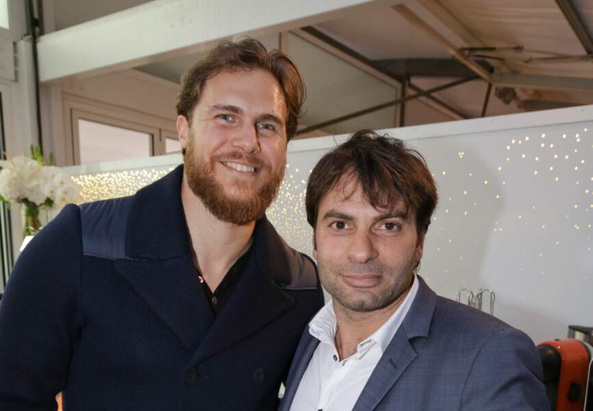 William Accambray et Christophe Dominici