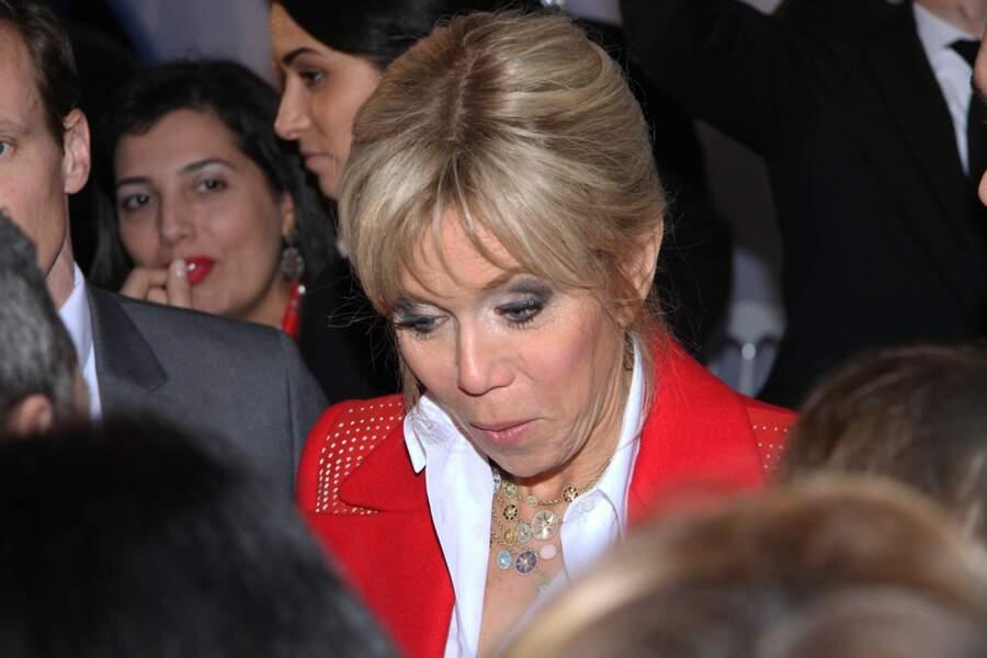 Brigitte Macron en Tunisie le 31 janvier
