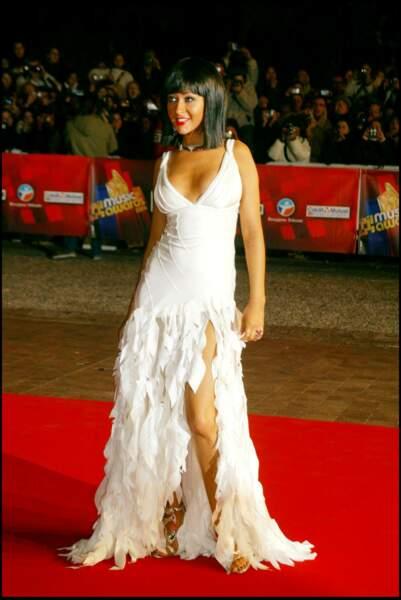 Christina Aguilera lors des NRJ Music Awards à Cannes en 2004