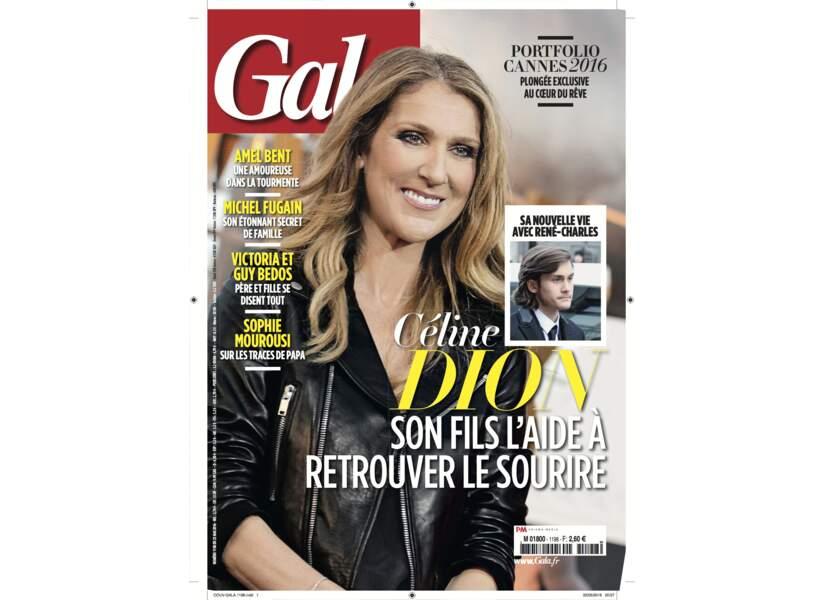Céline Dion son fils l'aide à retrouver le sourire