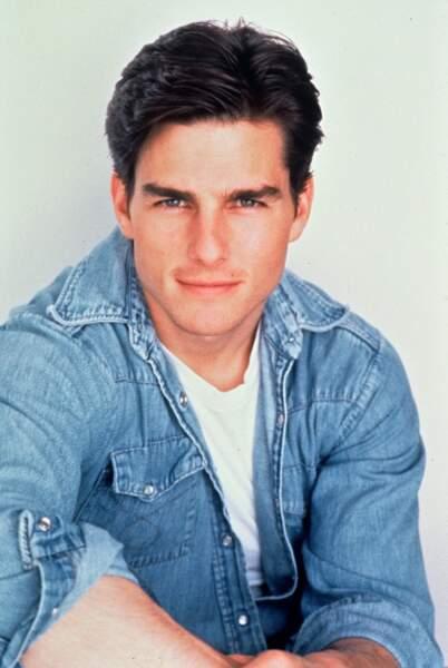 Tom Cruise, 35 ans, révélé par Cocktail et Top Gun, devient le chouchou des amoureuses romantiques