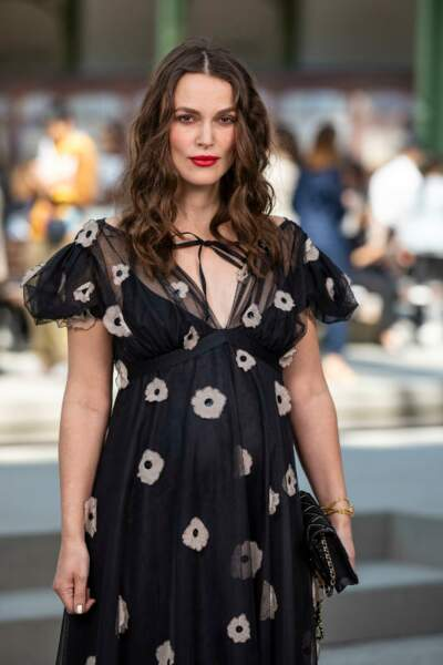 Keira Knightley enceinte pour la seconde fois (mai 2019)