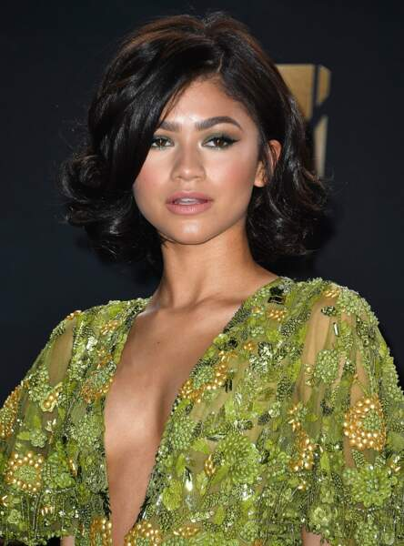 Le carré volumineux de Zendaya